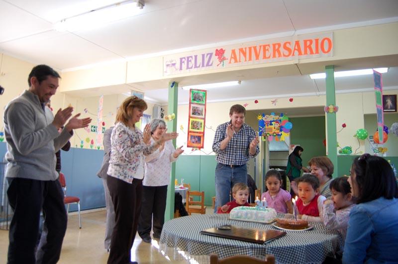el intendente melella comparti el 30 aniversario del