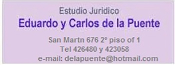 Eduardo y Carlos de la Puente (aviso)