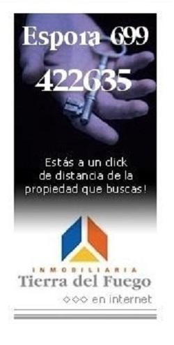 Inmobiliaria Tierra del Fuego (aviso)